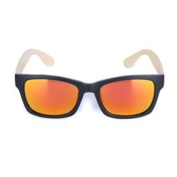 Ballop Orange Mirror Two Tone Frame Sunglasses